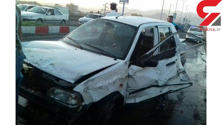 حادثه خونین رانندگی جان مادر و دختر 6 ساله را گرفت+عکس