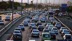 اعلام وضعیت ترافیکی جاده ها/ترافیک در آزاد راه کرج-قزوین و کرج-تهران نیمه سنگین است