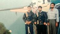 شهادت قهرمان تیراندازی هنگام پرواز + عکس ها