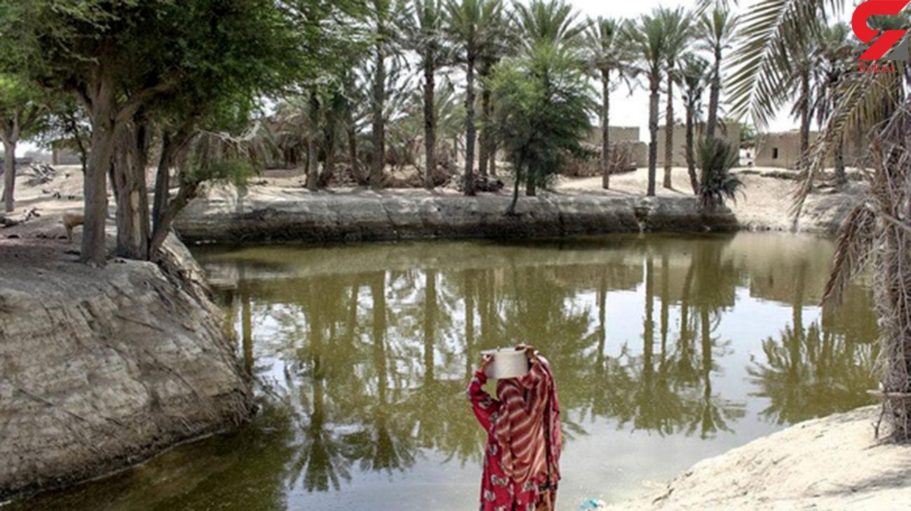 مرگ هولناک زینب دختر ۸ ساله در رودخانه سرباز / او رفته بود آب به خانه ببرد