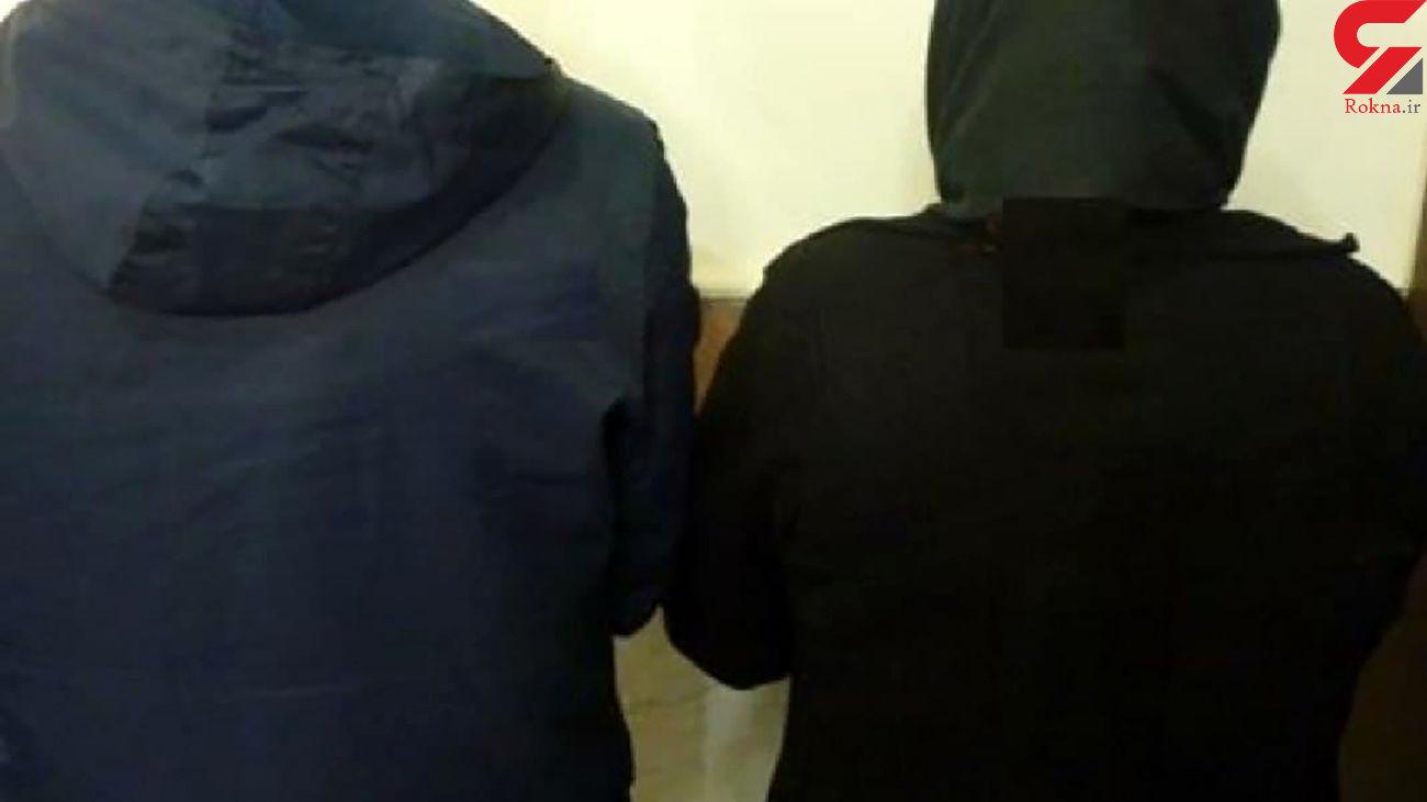 بازداشت زوج ساقی مواد در صومعه سرا