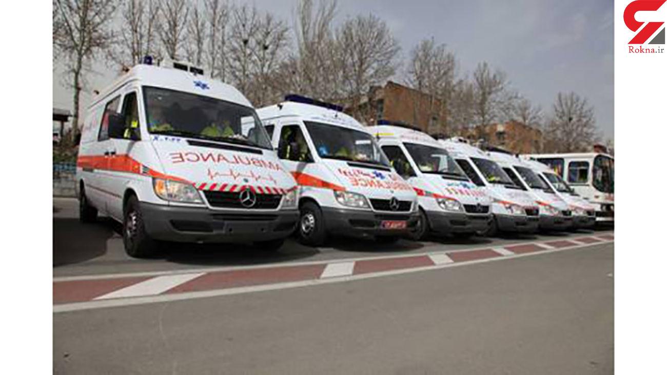 استقرار 60 تیم امدادی و درمانی اورژانس تهران در مسیرهای راهپیمایی 22 بهمن