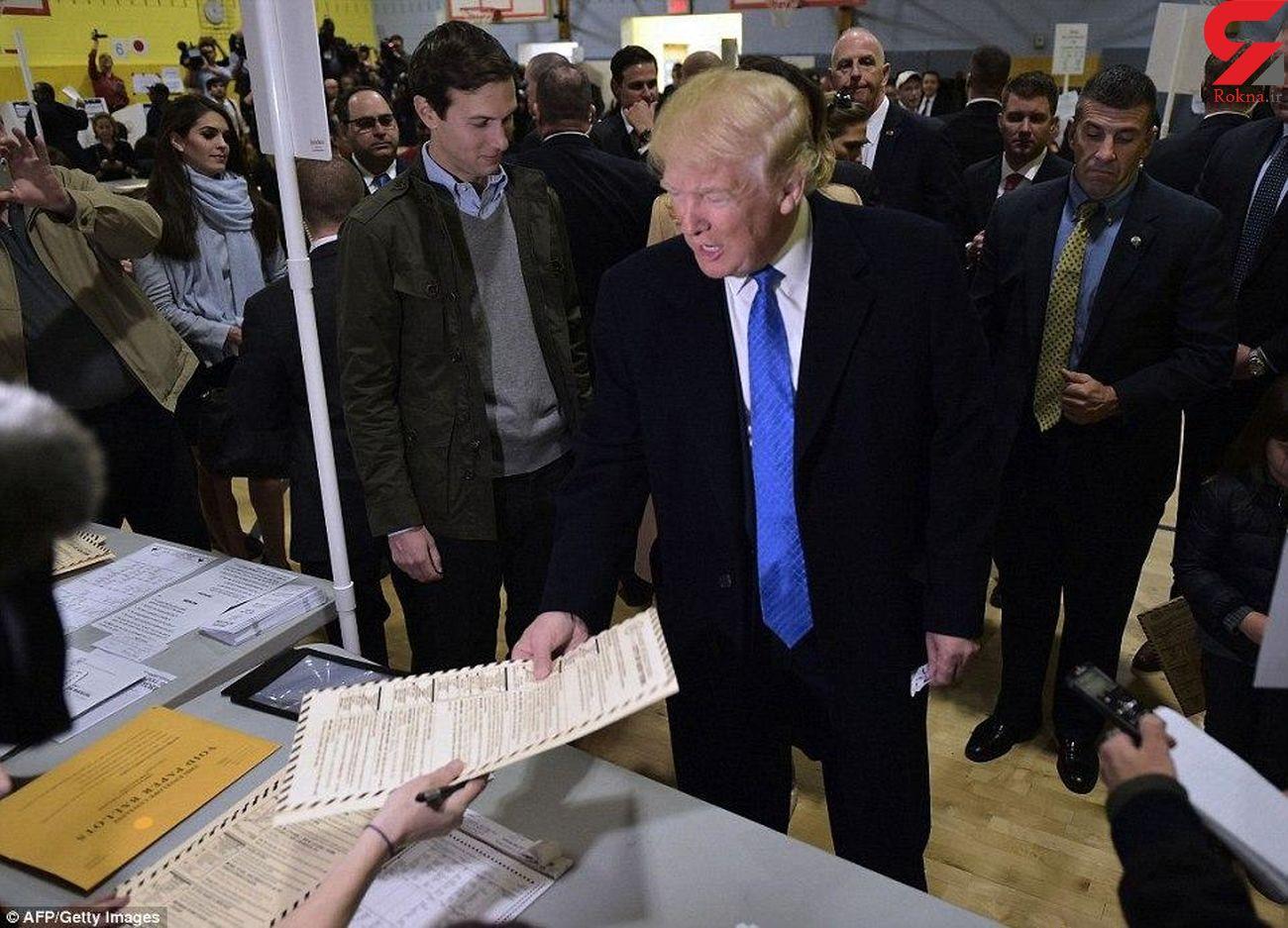 ترامپ  امروز رای خود را به صندوق میاندازد