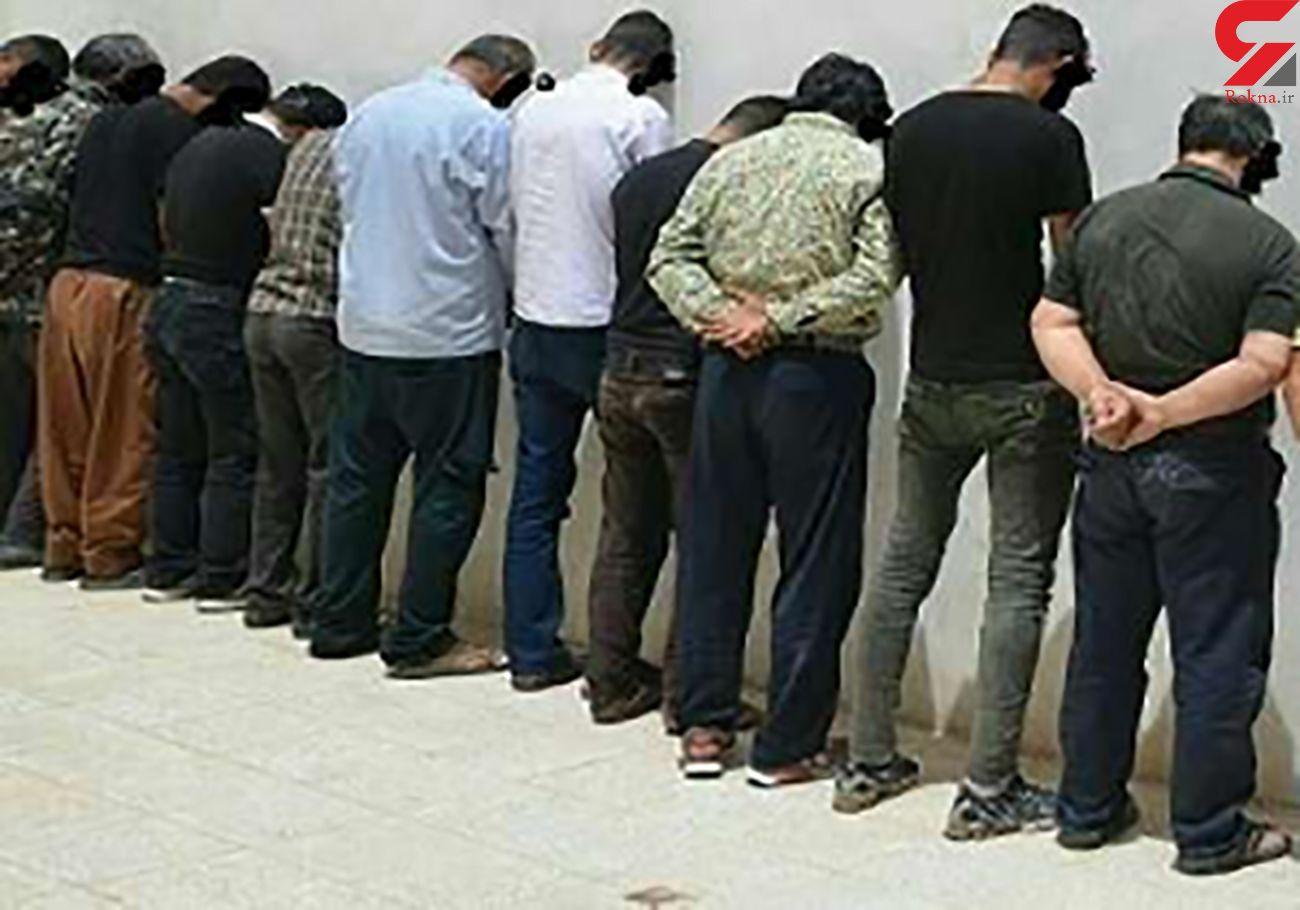 3 درگیری خونین در کرمانشاه / 17 نفر دستگیر و 11 تن زخمی شدند