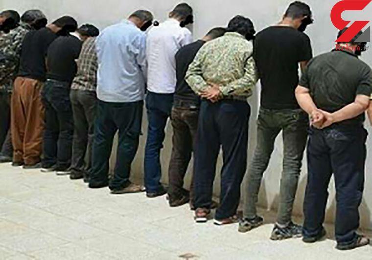 دستگیری 29 متهم در آبادان