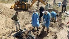76 گورجمعی قربانیان داعش در سنجار عراق کشف شد