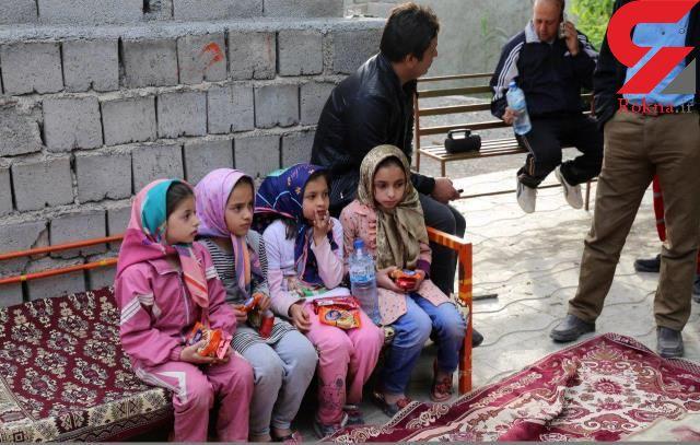 سرنوشت تکاندهنده 4 دختر نوجوان که 2 روز گم شده بودند + عکس  دختران بعد از نجات