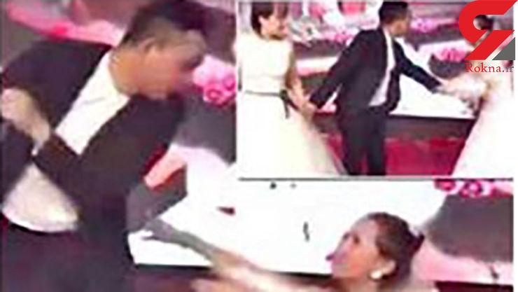 اتفاق عجیب در یک عروسی + فیلم و عکس