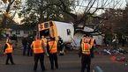 مرگ دردناک 6 کودک درتصادف اتوبوس مدرسه  ابتدایی +عکس