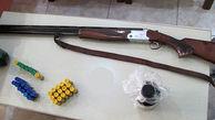 کشف موادمخدر و سلاح شکاری غیرمجاز در شهرکرد