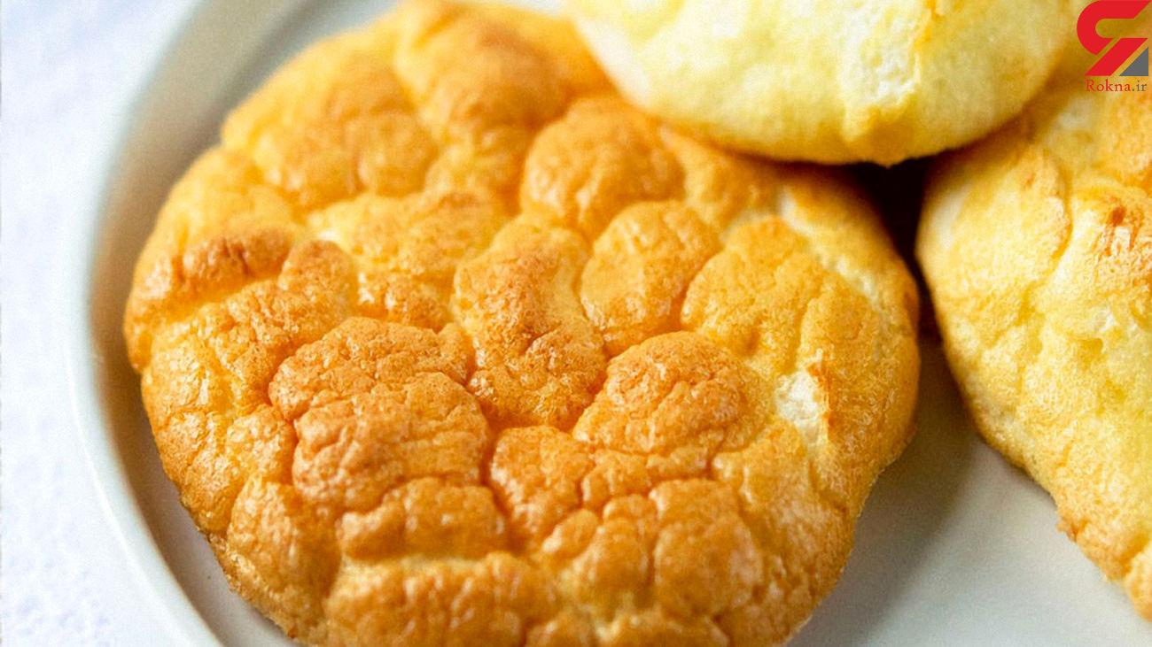 نان ابری مناسب برای لاغری + طرز تهیه