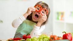 بدن بچه ها را با تغذیه رنگی قوی کنید