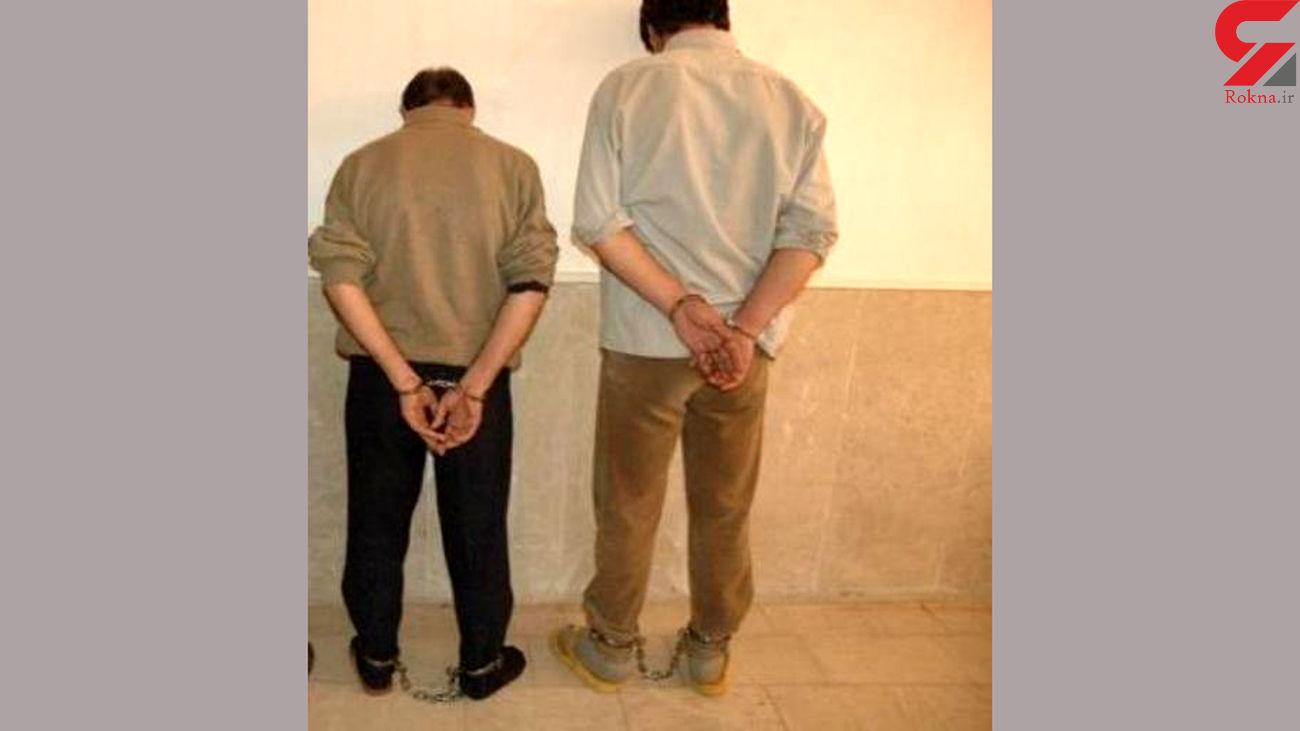 دستگیری سارقان تابلوهای شهری در آبادان