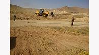آزادسازی 6 هزار متر مربع از اراضی ملی در بوئین زهرا