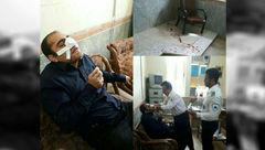 ضرب و شتم وحشتناک معلم توسط والدین دانش آموز/ در خوزستان رخ داد+ عکس
