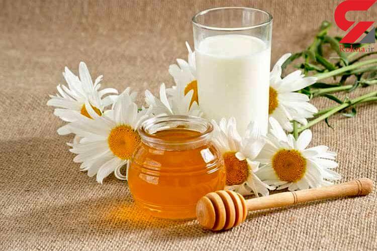 معجزه شیر و عسل؛ از درمان بی خوابی تا حفظ سلامت استخوان ها