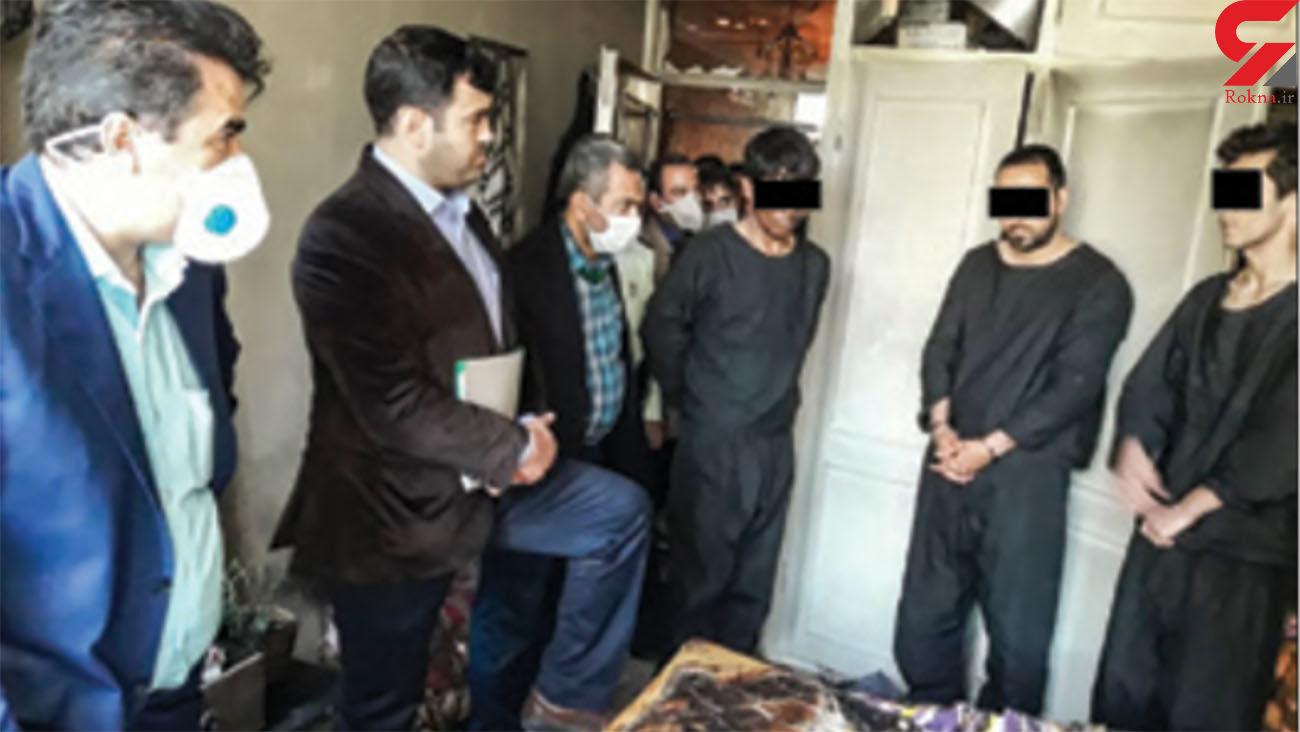 پشت پرده قتل در خانه ویلایی لو رفت / عکس 3 قاتل نقابدار مشهدی