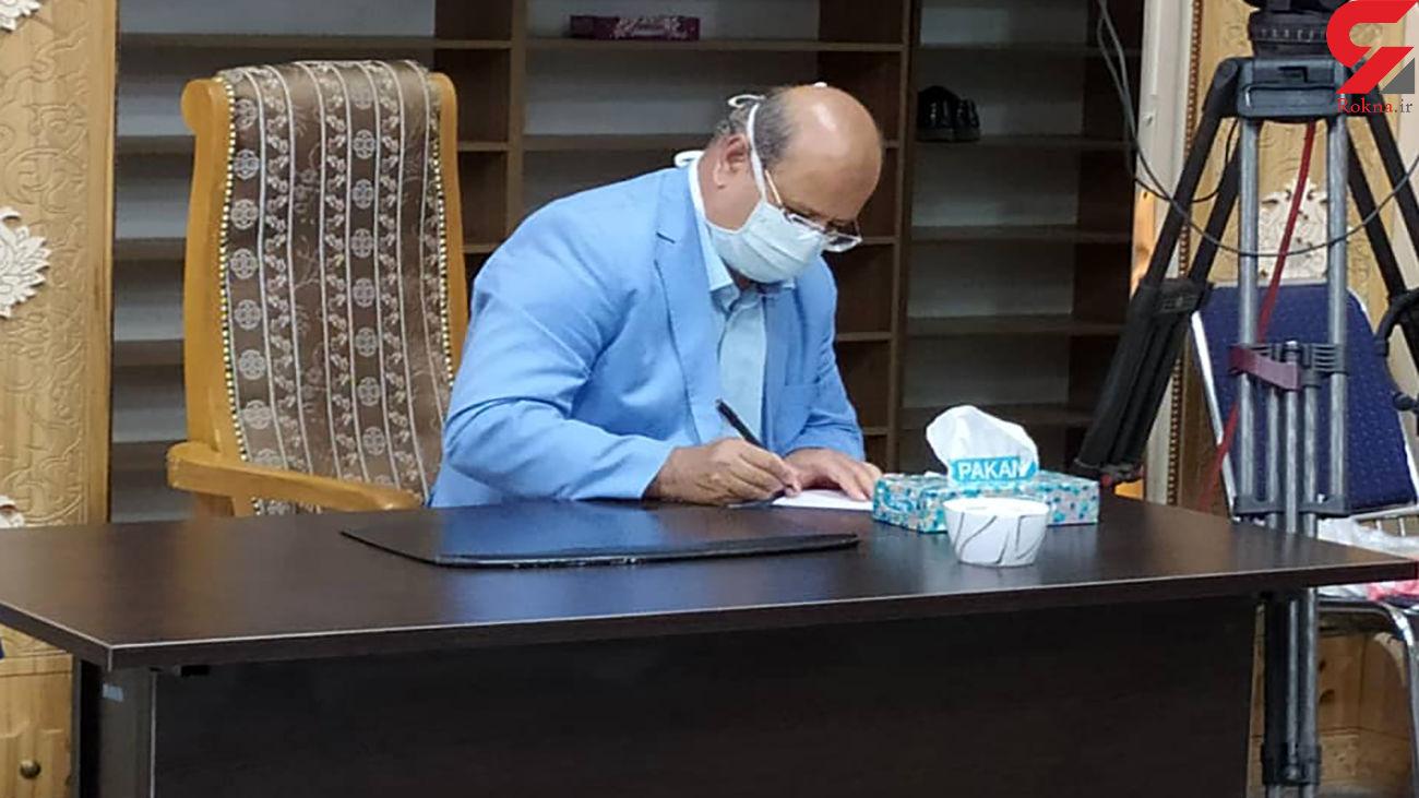 زالی در انتخابات 1400 شرکت کرد / پروتکل های بهداشتی در شعب اخذ رأی رعایت شده است + فیلم