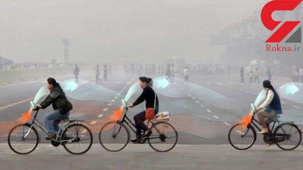 دوچرخه ای با قابلیت پاکسازی هوا به بازار آمد