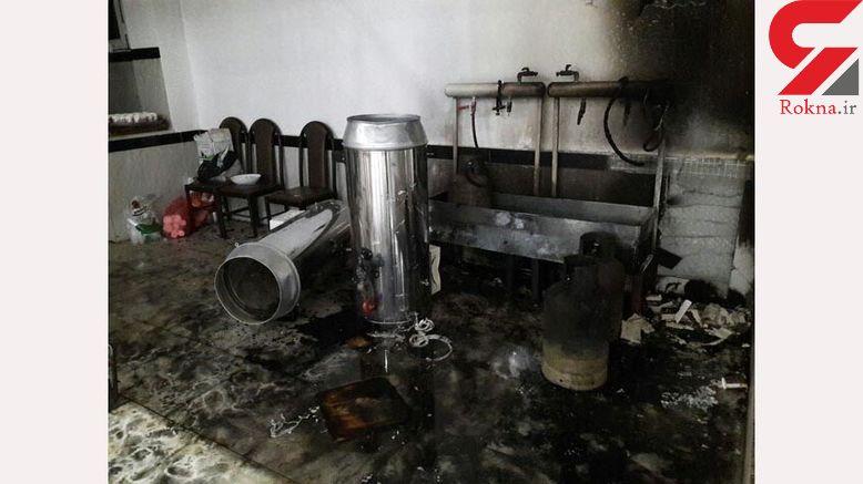 مرگ مرد 70 ساله در انفجار وحشتناک یک ساختمان مسکونی در تهران / 4 صبح رخ داد