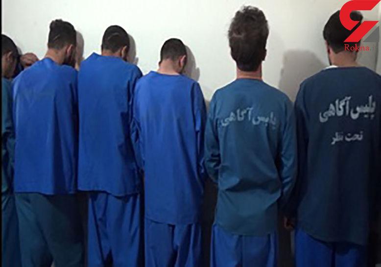 دستگیری سارقان مسلح در کرج / سنگ های قیمتی بهانه سرقت بود