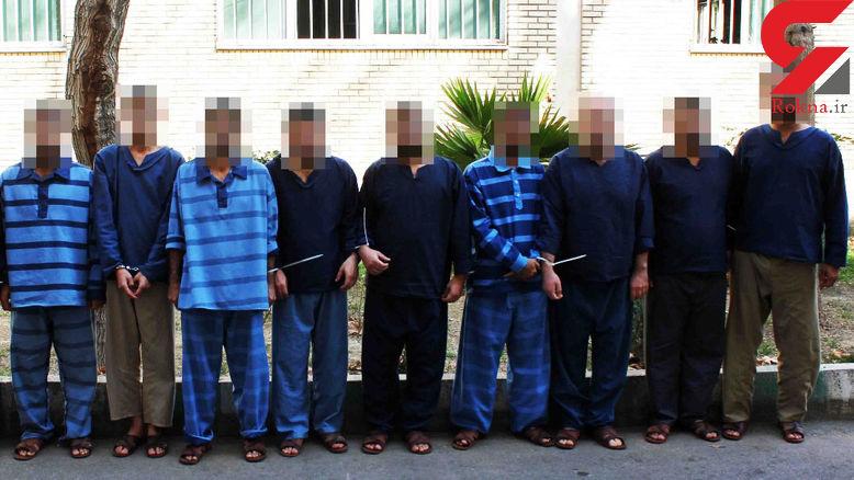 امیر و دارو دسته اش به 1000 خودرو در تهران دستبرد زدند+عکس اعضای باند
