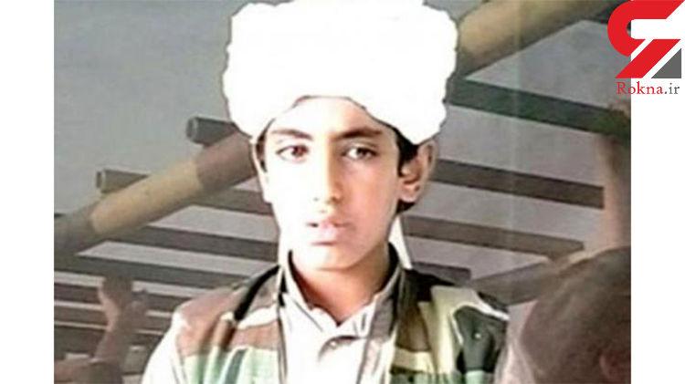 پسر جوان بن لادن در لیست سیاه آمریکا قرار گرفت+عکس