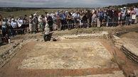 کشف موزائیک هزار و 600 ساله در انگلیس+تصاویر