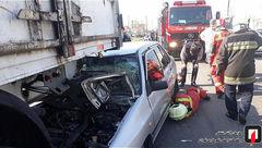 تصادف خونین و وحشتناک در اتوبان فتح تهران + تصاویر