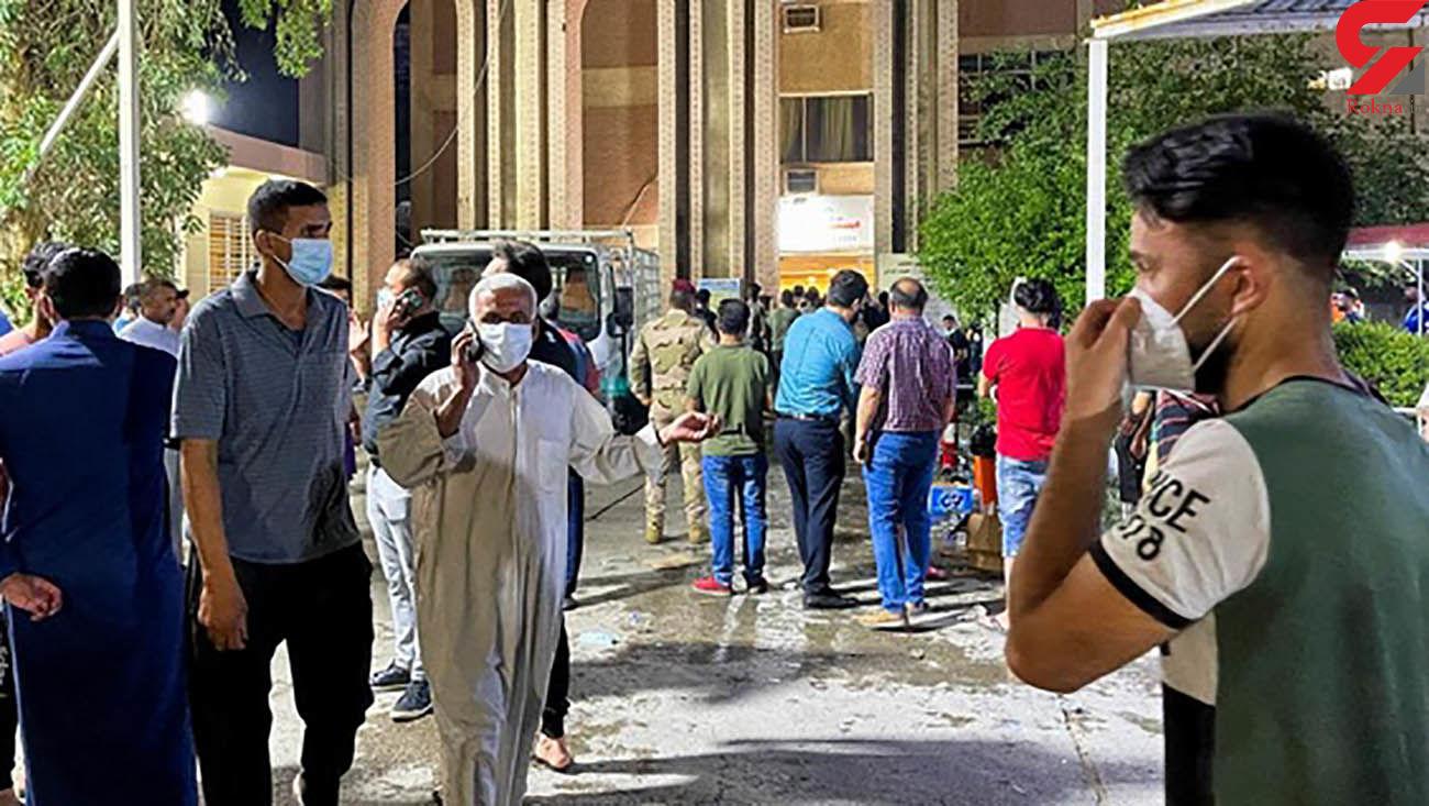 مرگ دردناک 27 بیمار کرونایی در یک بیمارستان بغداد