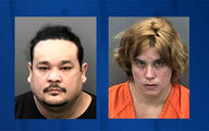 Tampa couple arrested after handcuffing and locking young boy in closet for 16 hours a day