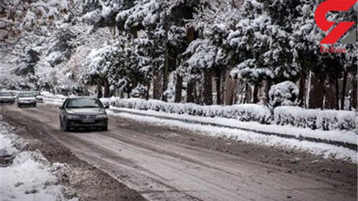 بارش برف در ارتفاعات خوزستان