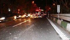 عجیب ترین عکس ها از تصادف وحشتناک در مرکز تهران! + جزییات