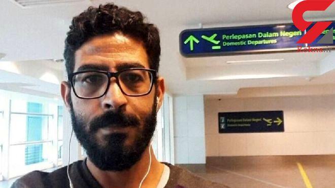 این مرد اجازه خروج از فرودگاه را ندارد + جزییات و عکس