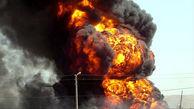 انفجار گاز داخل مرکز تجاری در کرج