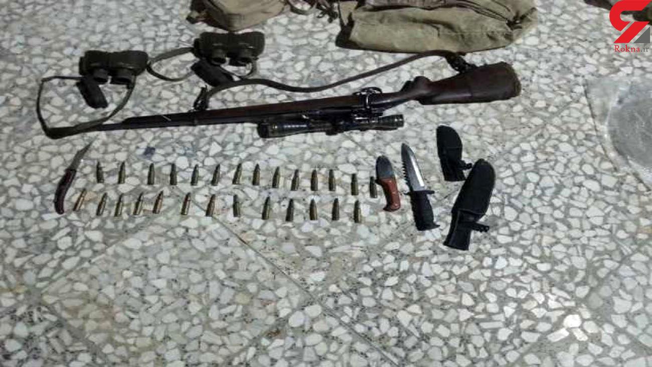 دستگیری 6 شکارچی متخلف در دامغان