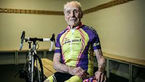 پیرمرد دوچرخه سوار رکورد زد+عکس