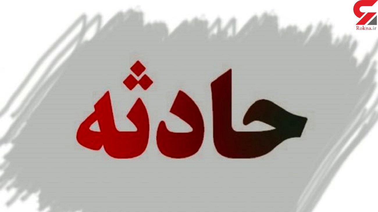 هشت مصدوم در تصادف زنجیره ای اصفهان