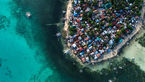 تصویری دیدنی از آبهای زیبای سیبو در فیلیپین+عکس