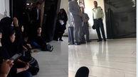 دختران سوخته درودزنی از دفتر آقای وزیر اخراج شدند! / آنها در مدرسه آتش گرفته بودند + عکس امروز