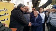 تقدیر شهردار تهران از راننده تاکسی امانتدار + عکس