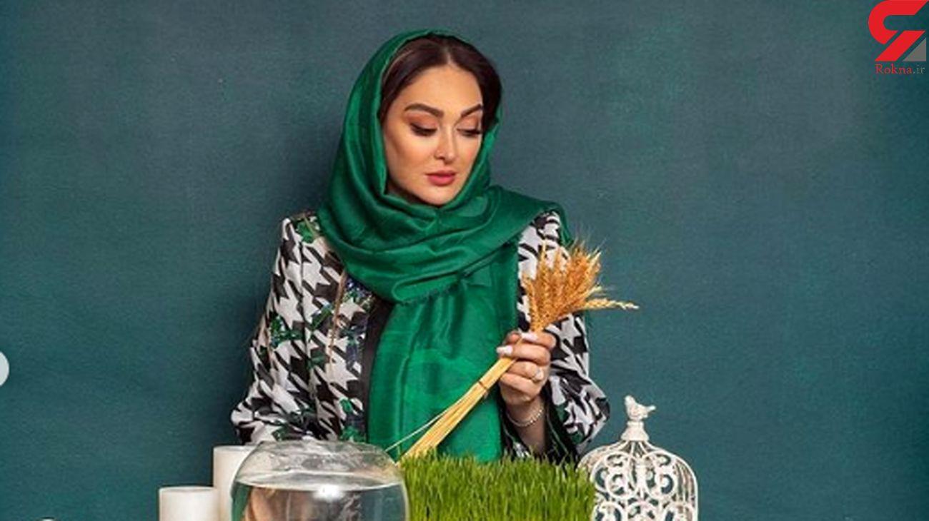 عکس های عیدانه و خاص الهام حمیدی
