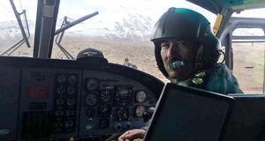گفتگوی اختصاصی با  خلبان هلی کوپتر که بر فراز دنا پرواز کرد + فیلم و عکس