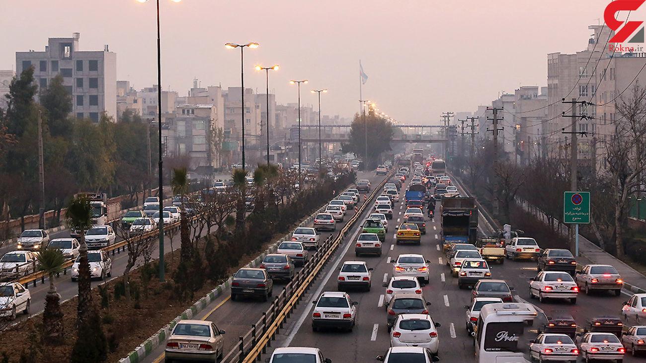 ترافیک تهران امروز زودتر و پر حجم تر آغاز شد