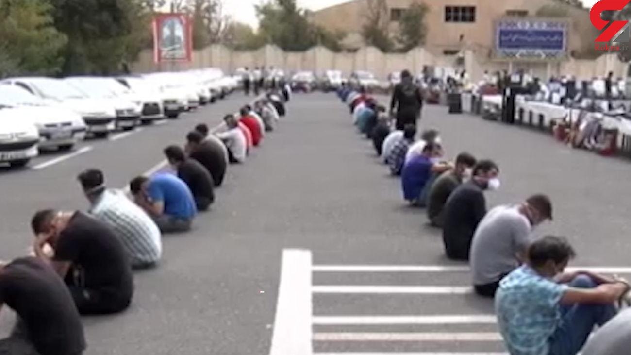 بازداشت 11 سارق حرفه ای در مراغه