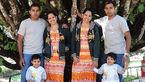ازدواج جالب خواهر و برادران دوقلو  + عکس جالب