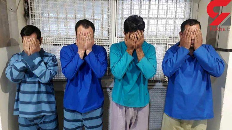 این 4 شرور اجیر شدند تا آدمکشی کنند / مرد تهرانی نمی دانست پسرناخلف نقشه پلیدی دارد + عکس