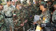 بازدید فرمانده کل ارتش از یگانهای مستقر در کرمانشاه +تصاویر
