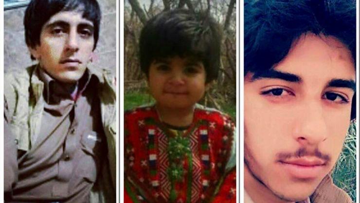 عکس کودک 3 ساله که با شلیک پلیس دلگان کشته شد / او داخل ماشین قاچاقچی بود + عکس 3 کشته شده