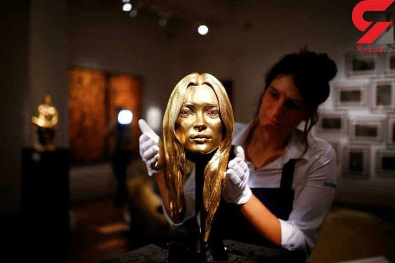 حراج لاکچری ترین مجسمه طلا+عکس
